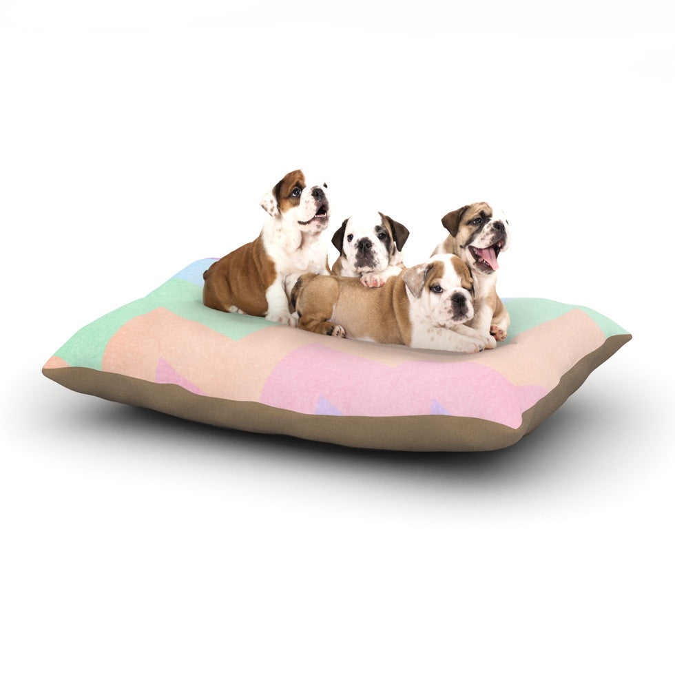 "Catherine McDonald ""Blaze"" Dog Bed - KESS InHouse  - 1"