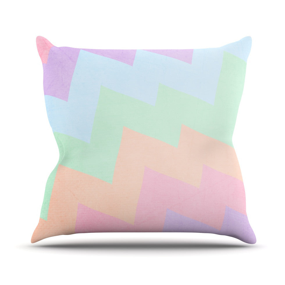 "Catherine McDonald ""Blaze"" Outdoor Throw Pillow - KESS InHouse  - 1"