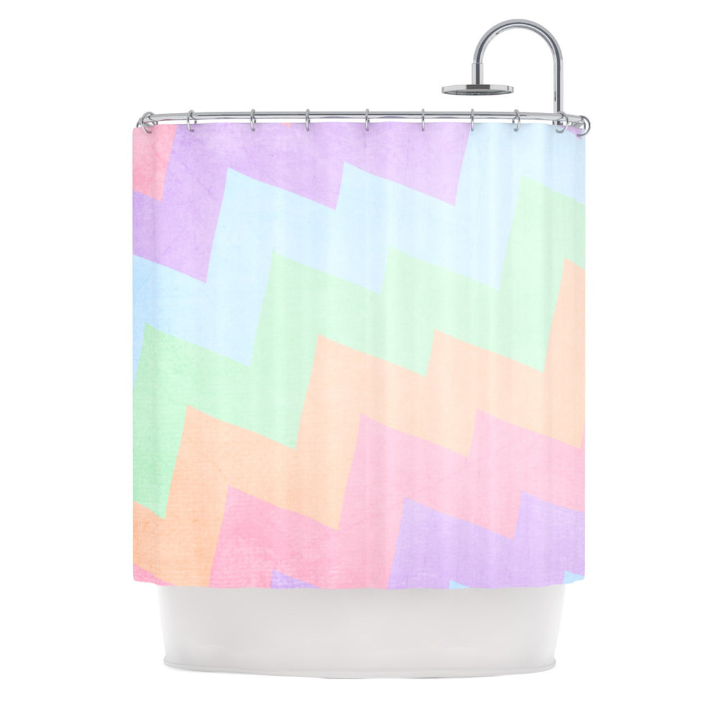"Catherine McDonald ""Blaze"" Shower Curtain - KESS InHouse"