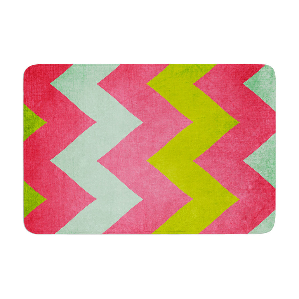 "Catherine McDonald ""Cocktails With Lilly"" Memory Foam Bath Mat - KESS InHouse"