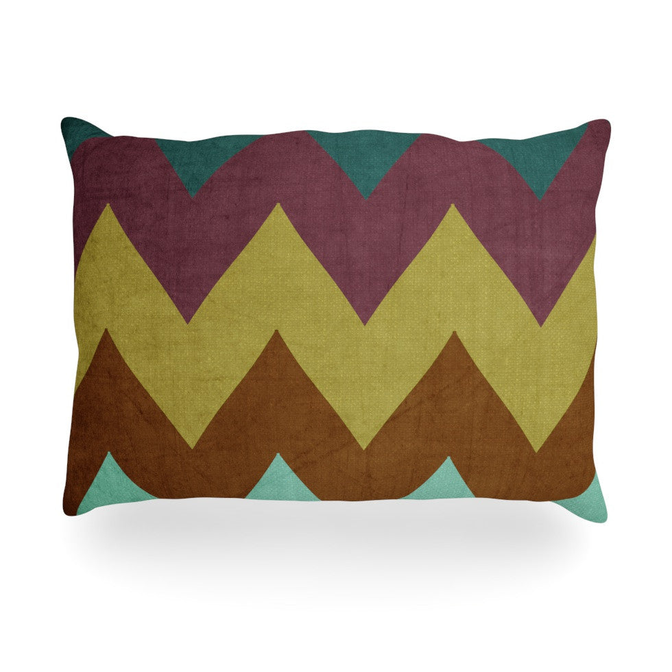 "Catherine McDonald ""Mountain High"" Art Object Oblong Pillow - KESS InHouse"