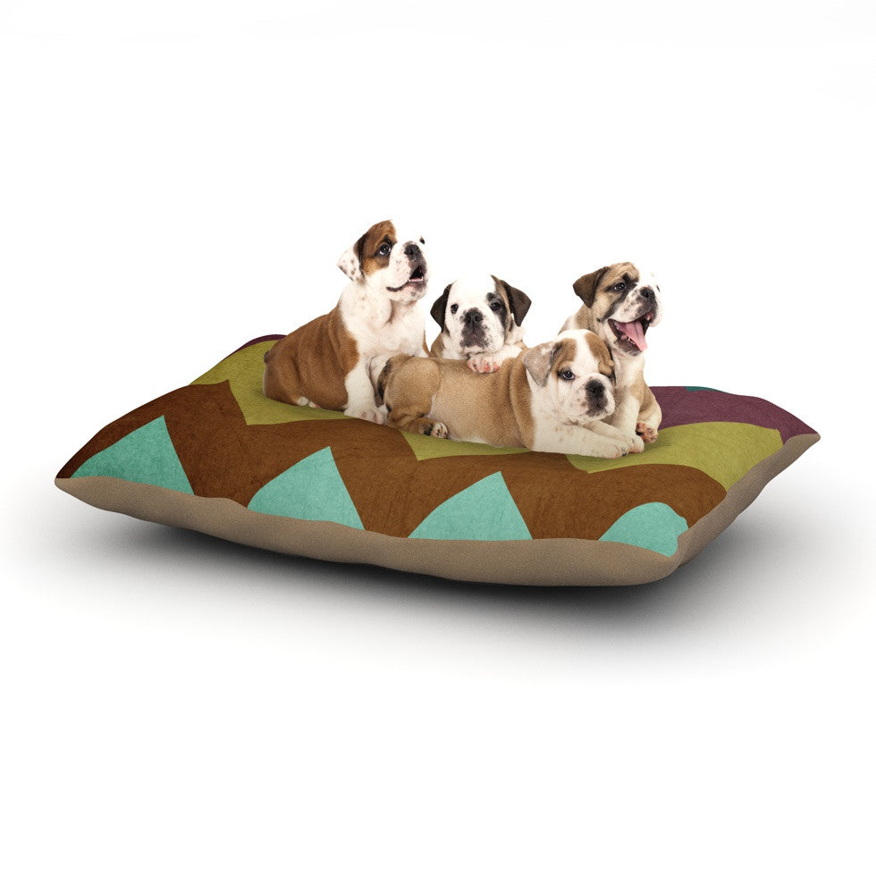 "Catherine McDonald ""Mountain High"" Art Object Dog Bed - KESS InHouse  - 1"