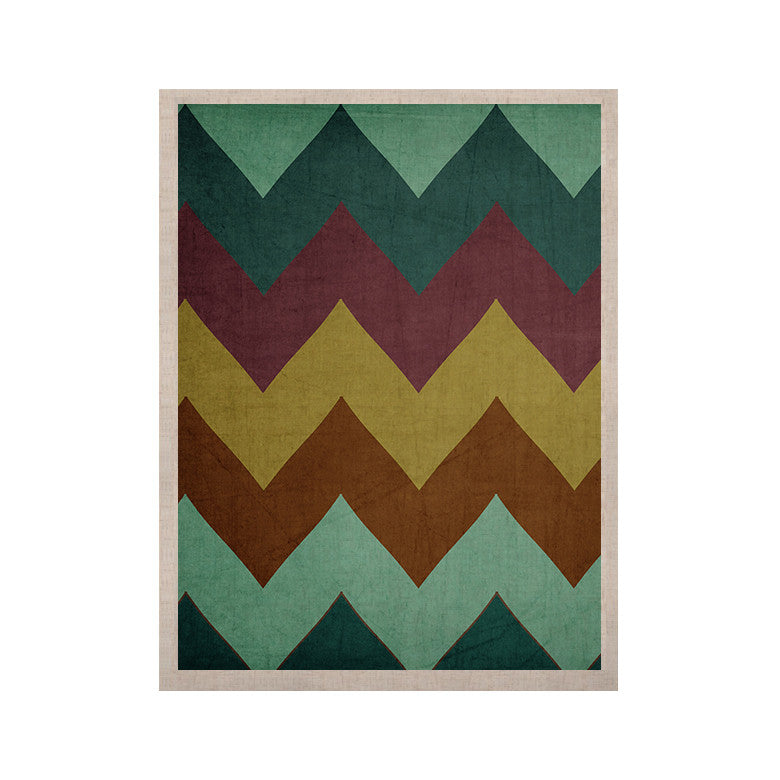 "Catherine McDonald ""Mountain High"" Art Object KESS Naturals Canvas (Frame not Included) - KESS InHouse  - 1"