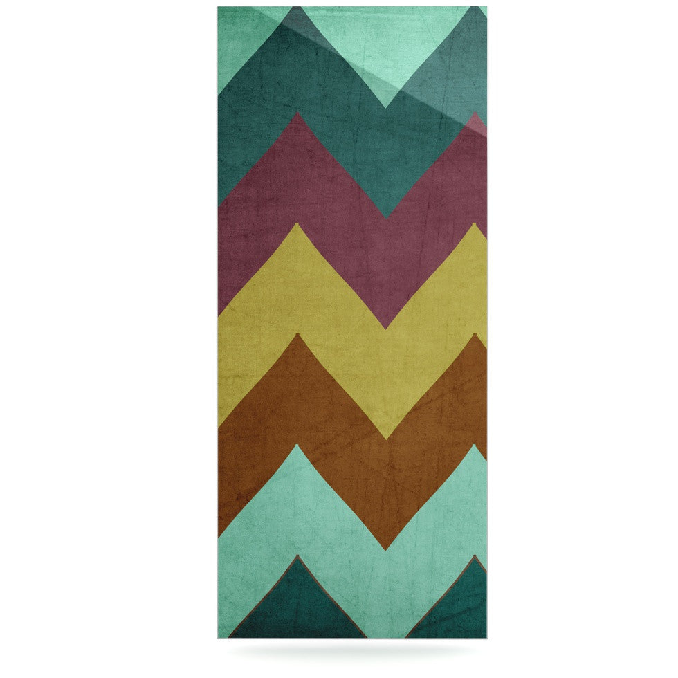 "Catherine McDonald ""Mountain High"" Art Object Luxe Rectangle Panel - KESS InHouse  - 1"