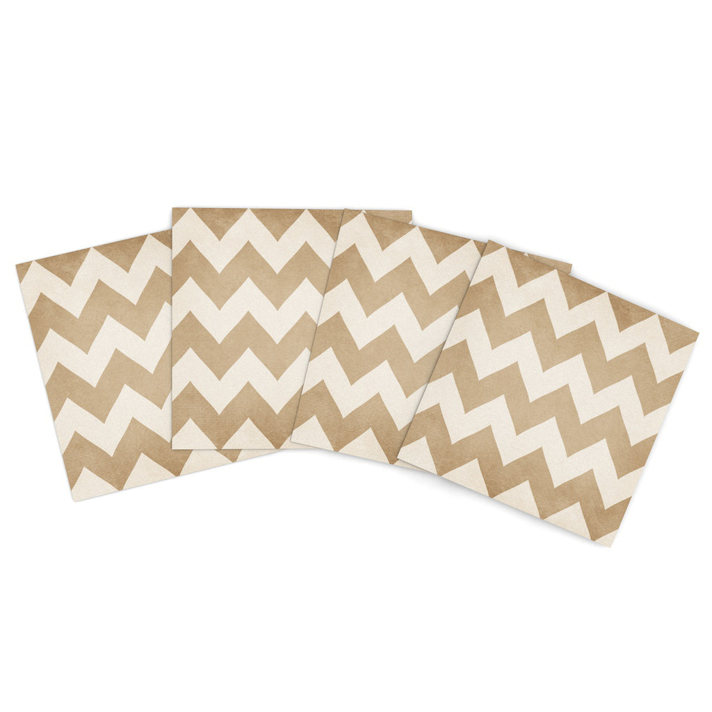 "Catherine McDonald ""Biscotti and Cream"" Outdoor Place Mat - Outlet Item"