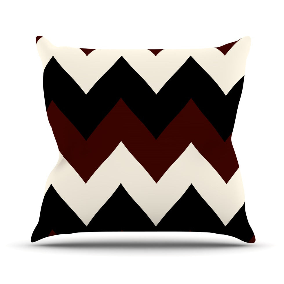 "Catherine McDonald ""Oxfords and Button Ups"" Throw Pillow - KESS InHouse  - 1"