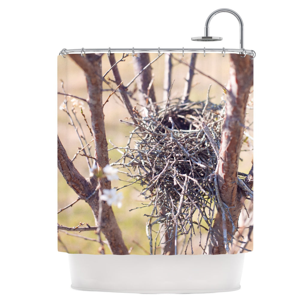 "Catherine McDonald ""Nest"" Shower Curtain - KESS InHouse"
