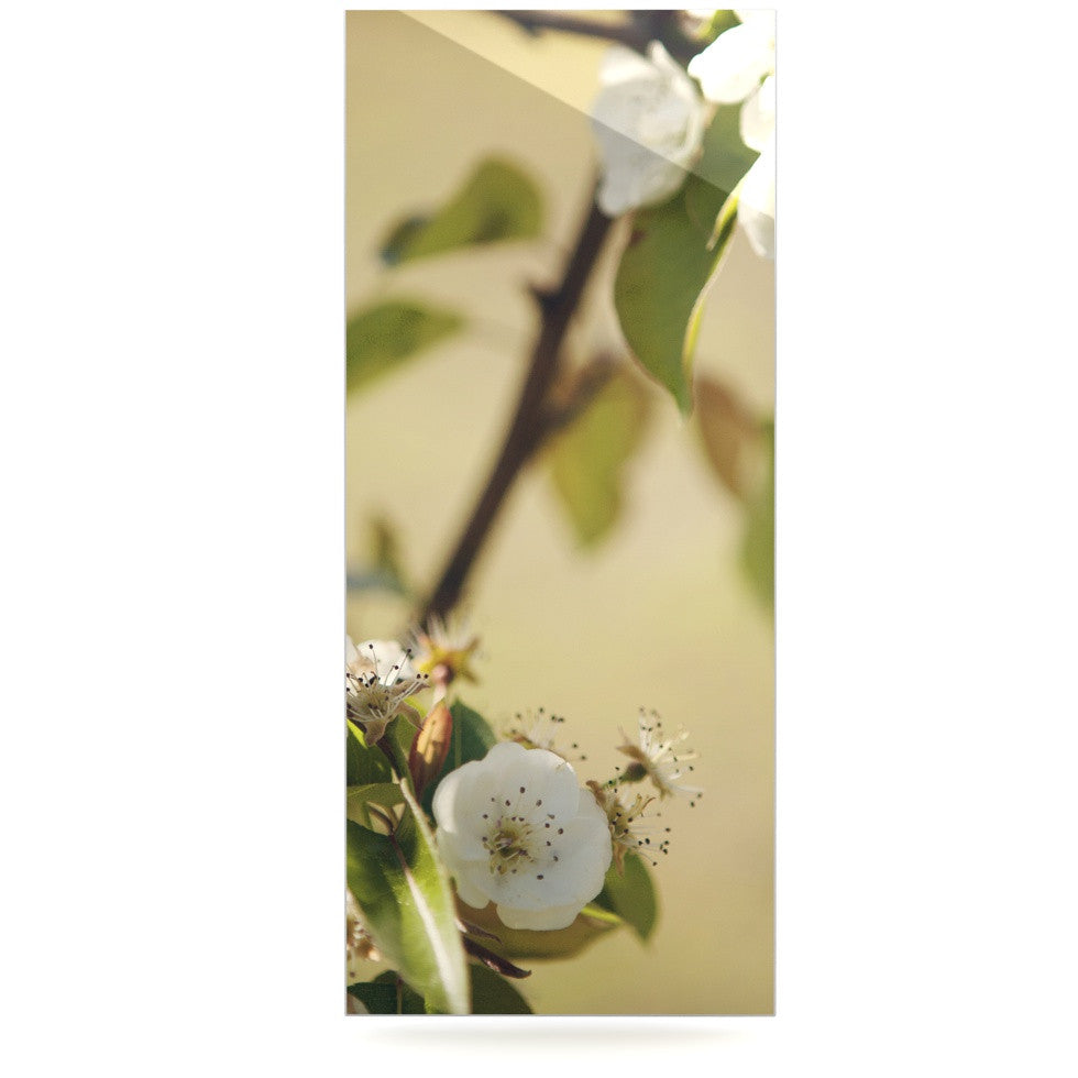 "Catherine McDonald ""Pear Blossom"" Luxe Rectangle Panel - KESS InHouse  - 1"