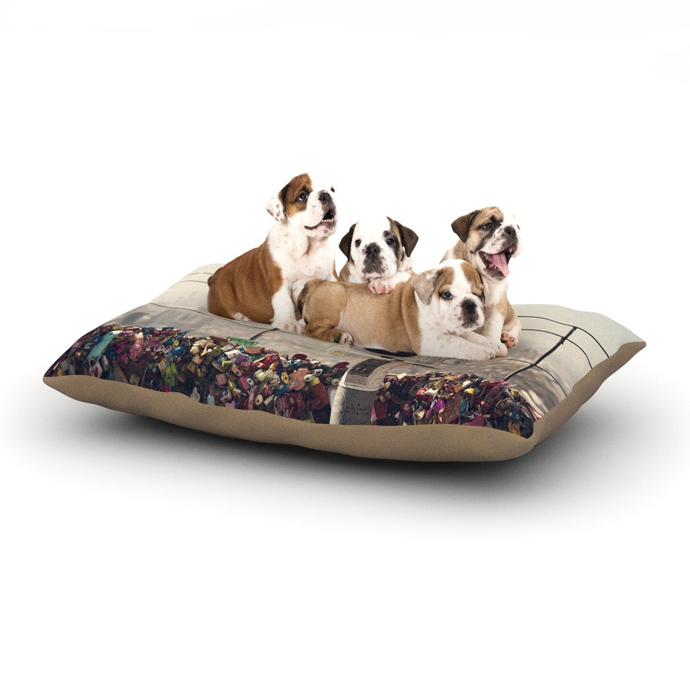 "Catherine McDonald ""The View Seoul"" Dog Bed - KESS InHouse  - 1"