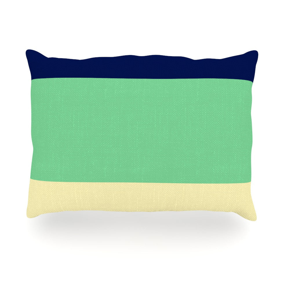 "Catherine McDonald ""South Pacific"" Oblong Pillow - KESS InHouse"