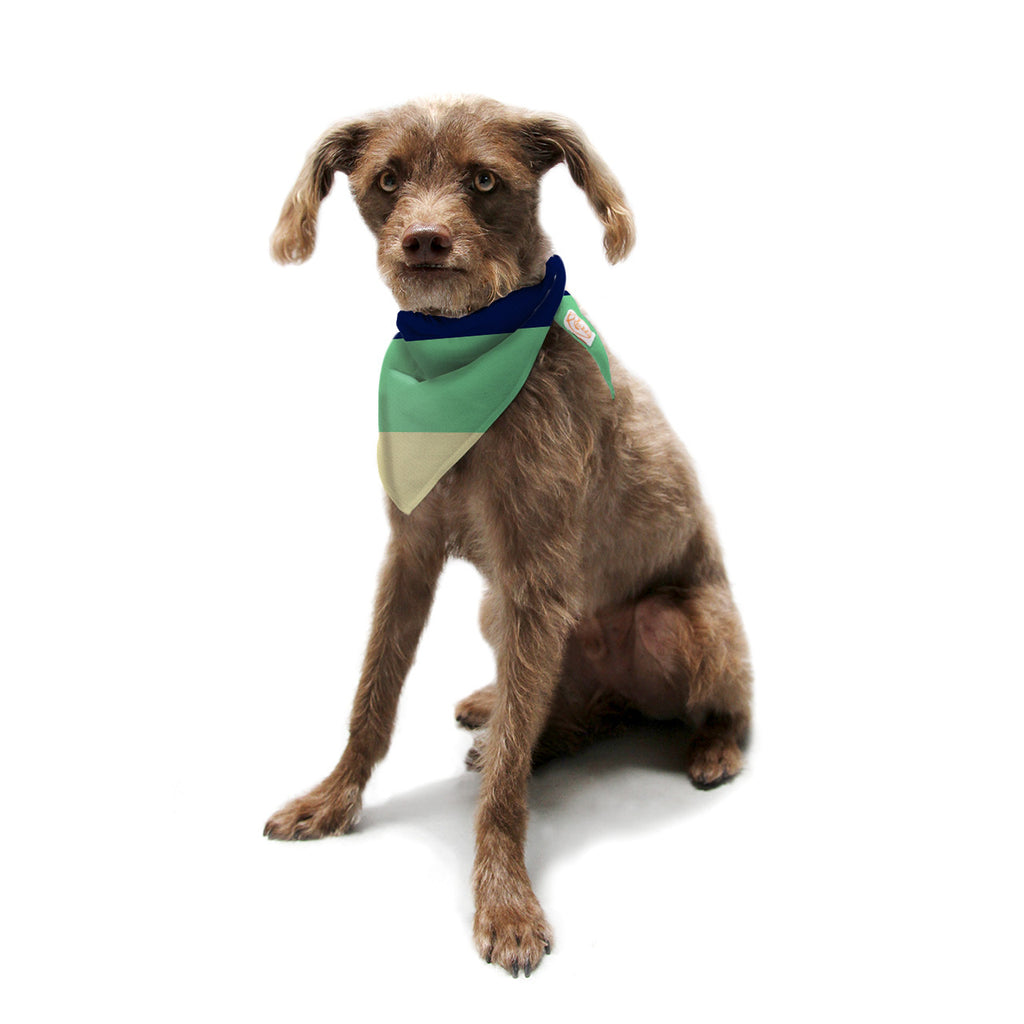 "Catherine McDonald ""South Pacific"" Pet Bandana - KESS InHouse  - 1"