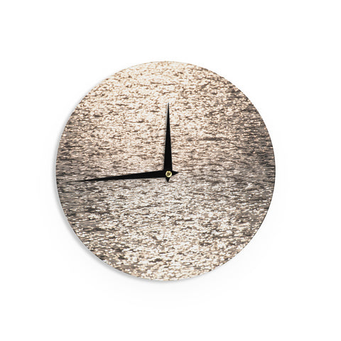 "Catherine McDonald ""Golden Hour"" Water Reflection Wall Clock - Outlet Item"