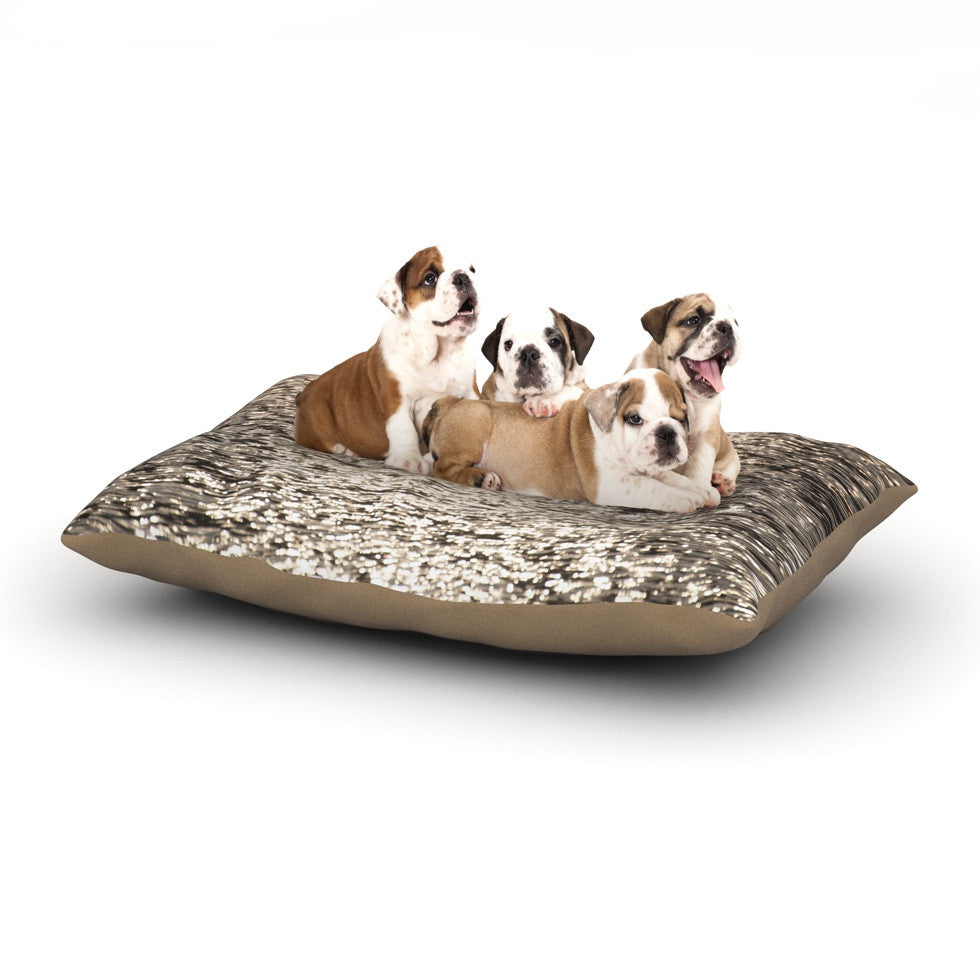 "Catherine McDonald ""Golden Hour"" Water Reflection Dog Bed - KESS InHouse  - 1"