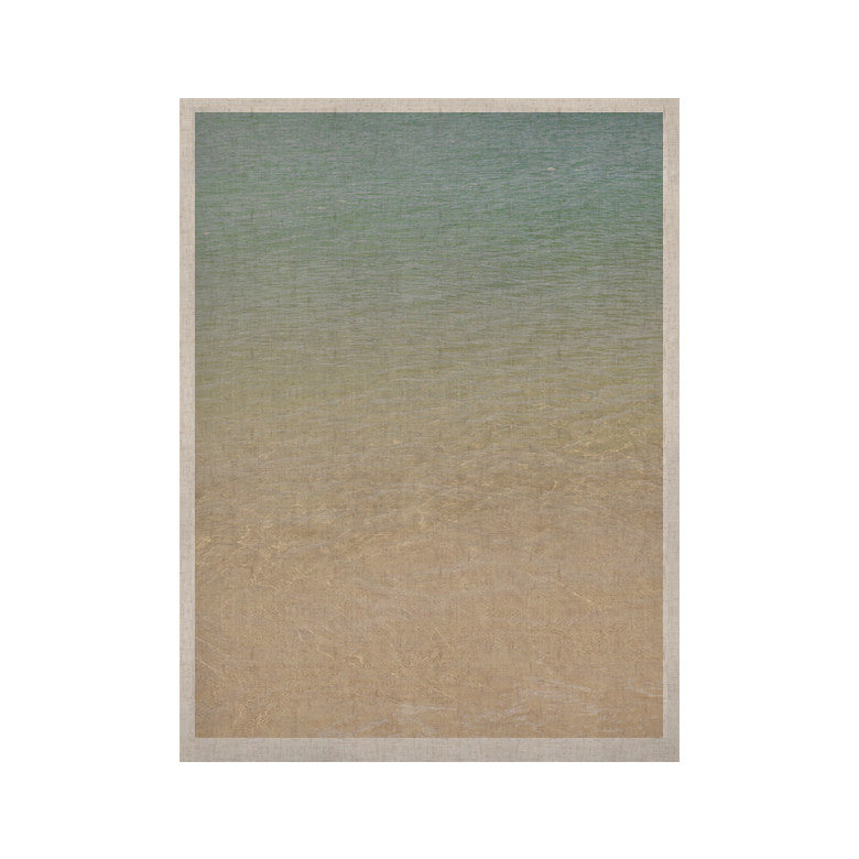 "Catherine McDonald ""Ombre Sea"" Beach Photography KESS Naturals Canvas (Frame not Included) - KESS InHouse  - 1"