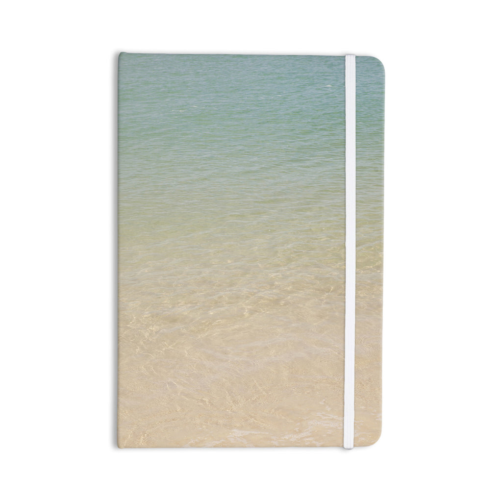"Catherine McDonald ""Ombre Sea"" Beach Photography Everything Notebook - KESS InHouse  - 1"
