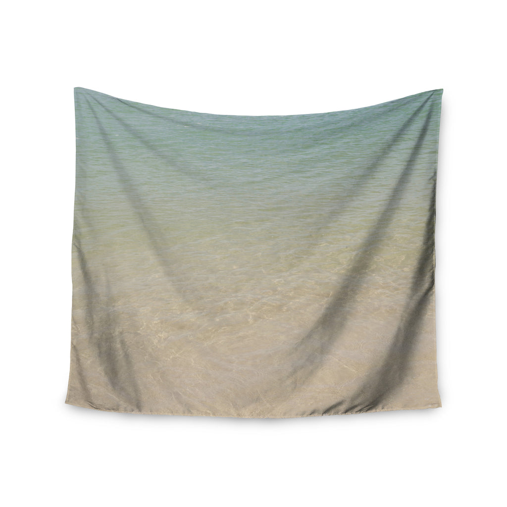 "Catherine McDonald ""Ombre Sea"" Beach Photography Wall Tapestry - KESS InHouse  - 1"