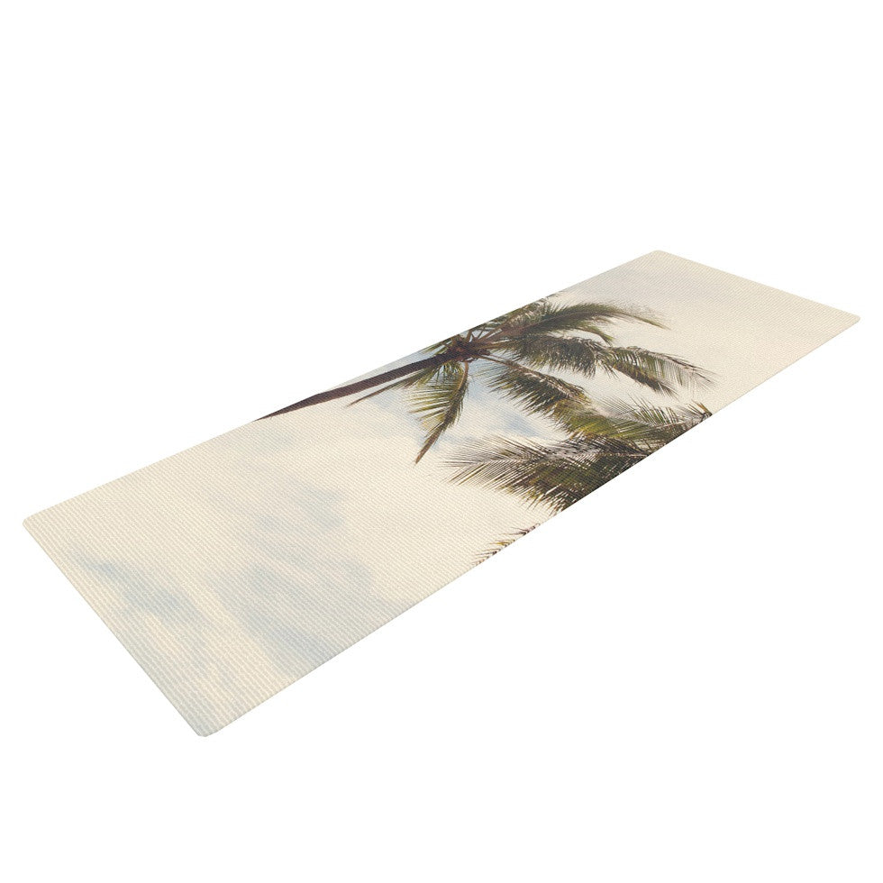 "Catherine McDonald ""Boho Palms"" Coastal Trees Yoga Mat - KESS InHouse  - 1"
