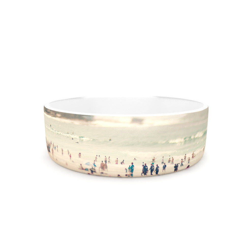 "Catherine McDonald ""Bondi Beach"" Coastal People Pet Bowl - KESS InHouse"