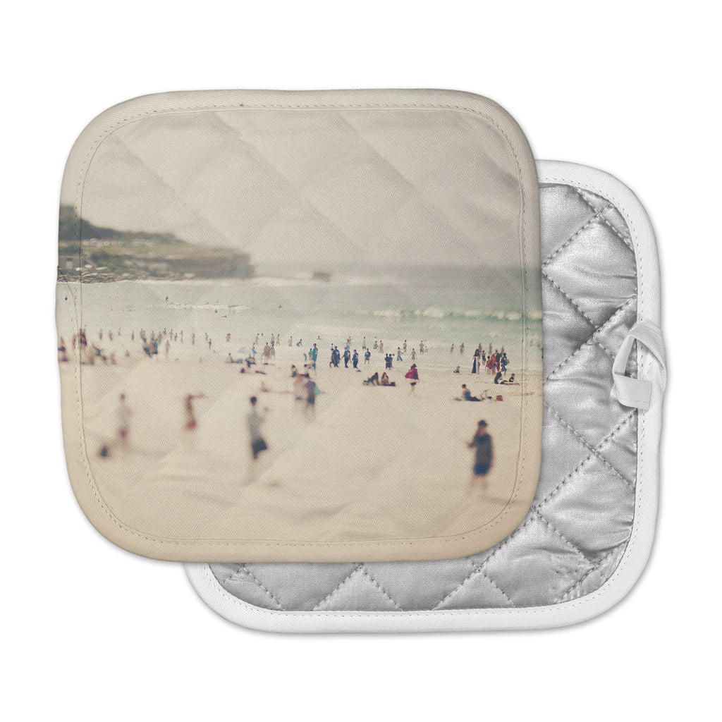 "Catherine McDonald ""Bondi Beach"" Coastal People Pot Holder"