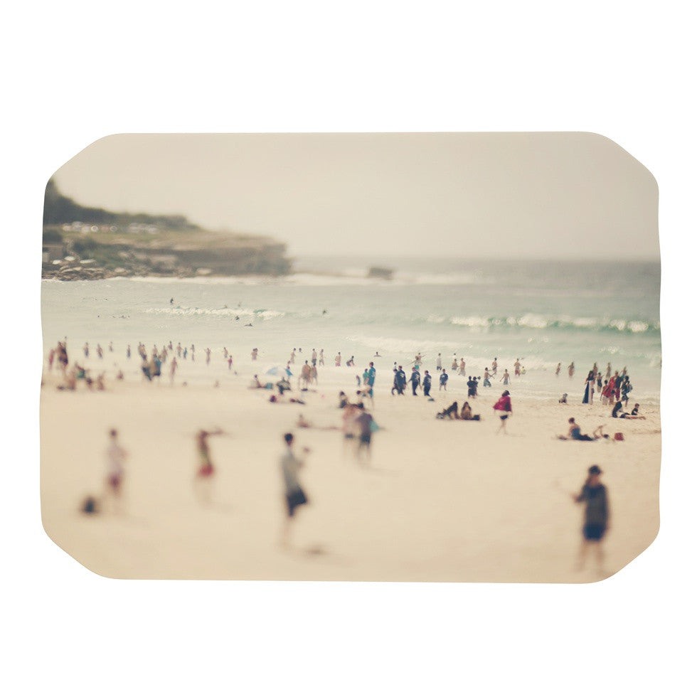 "Catherine McDonald ""Bondi Beach"" Coastal People Place Mat - KESS InHouse"