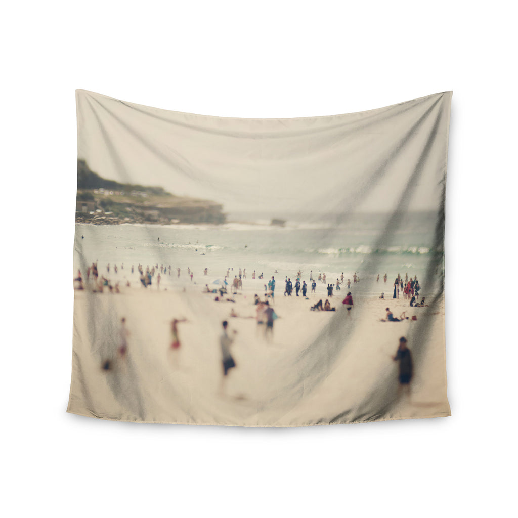 "Catherine McDonald ""Bondi Beach"" Coastal People Wall Tapestry - KESS InHouse  - 1"