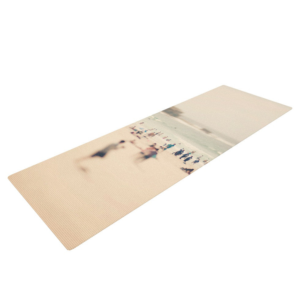 "Catherine McDonald ""Bondi Beach"" Coastal People Yoga Mat - KESS InHouse  - 1"