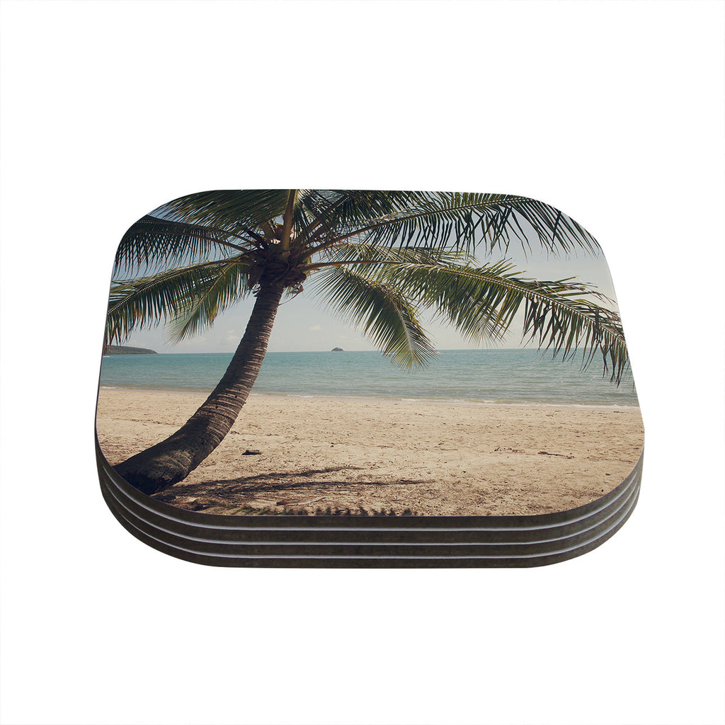 "Catherine McDonald ""Tropic of Capricorn"" Ocean Photography Coasters (Set of 4)"