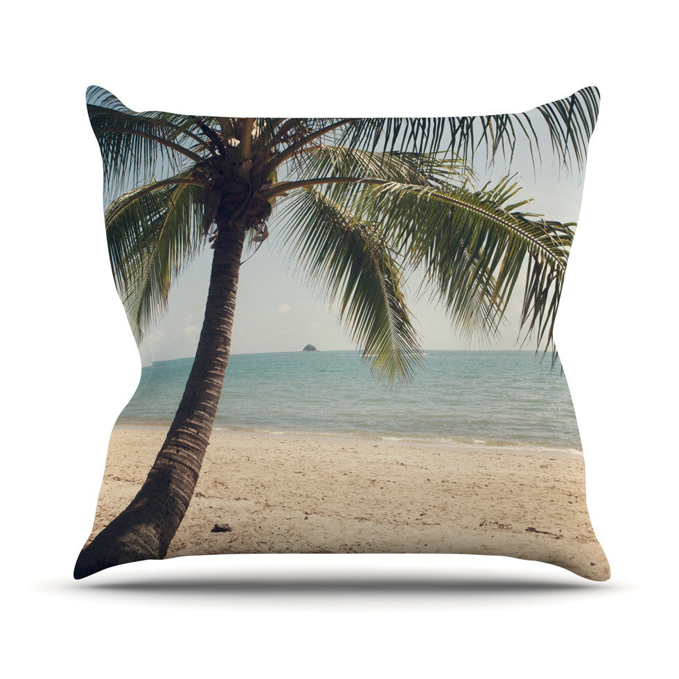 "Catherine McDonald ""Tropic of Capricorn"" Ocean Photography Throw Pillow - KESS InHouse  - 1"