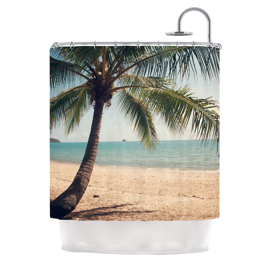 "Catherine McDonald ""Tropic of Capricorn"" Ocean Photography Shower Curtain - KESS InHouse"