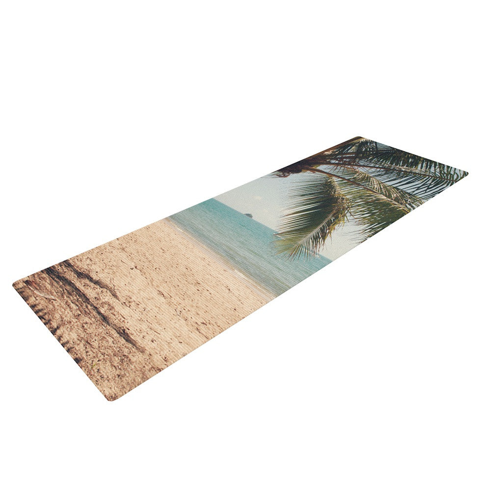 "Catherine McDonald ""Tropic of Capricorn"" Ocean Photography Yoga Mat - KESS InHouse  - 1"