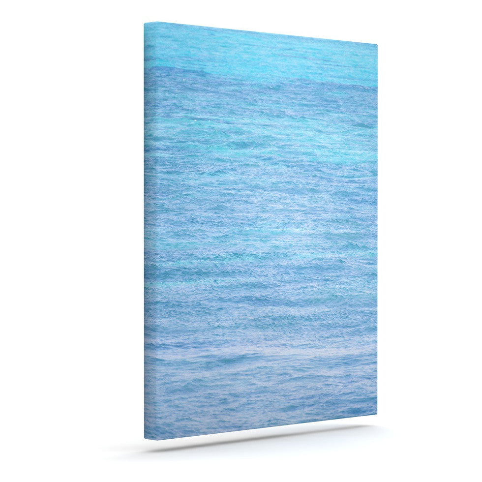 "Catherine McDonald ""South Pacific II"" Ocean Water Canvas Art - KESS InHouse  - 1"