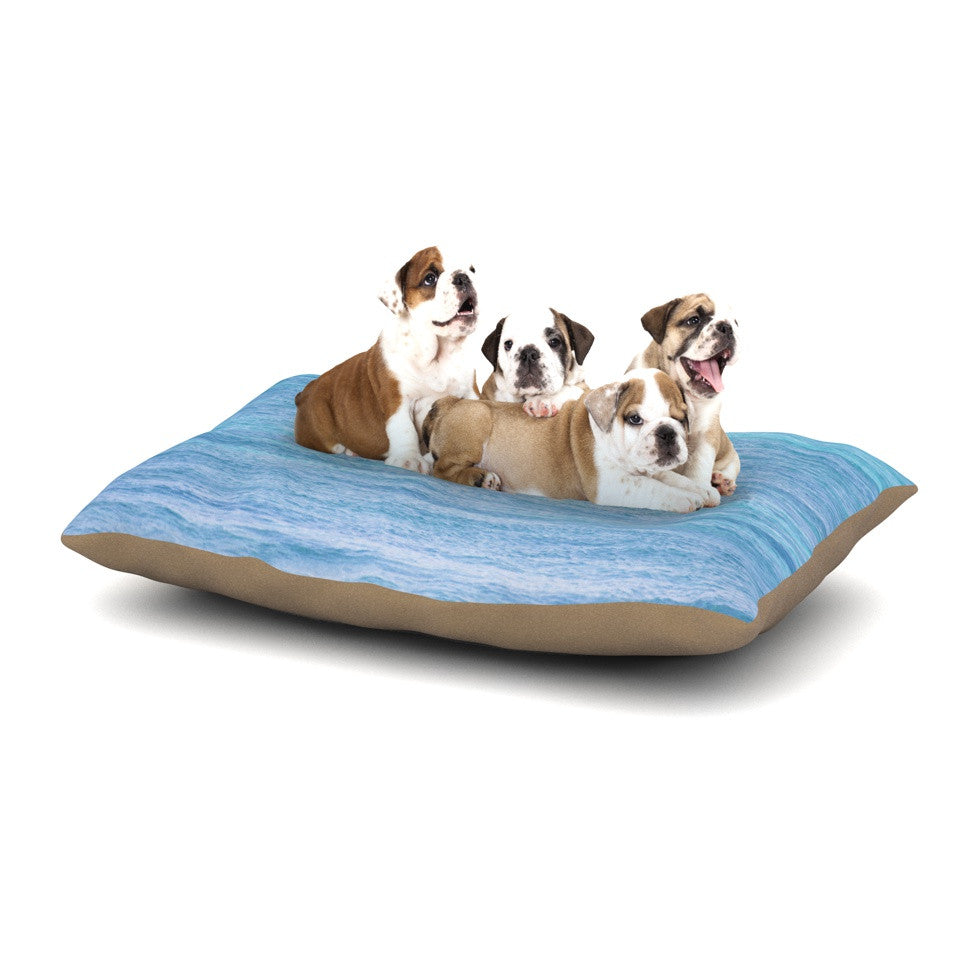 "Catherine McDonald ""South Pacific II"" Ocean Water Dog Bed - KESS InHouse  - 1"