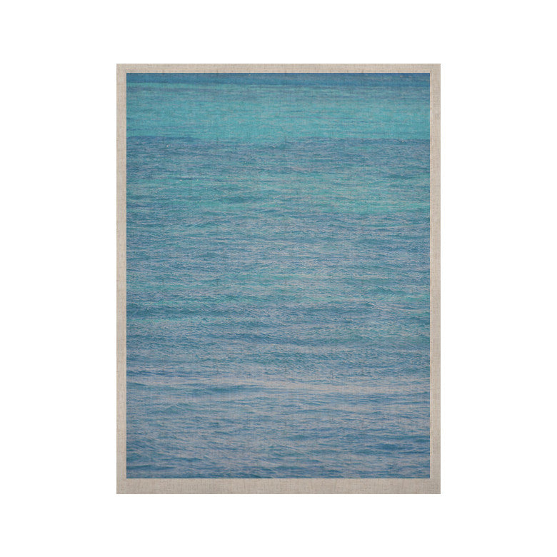 "Catherine McDonald ""South Pacific II"" Ocean Water KESS Naturals Canvas (Frame not Included) - KESS InHouse  - 1"