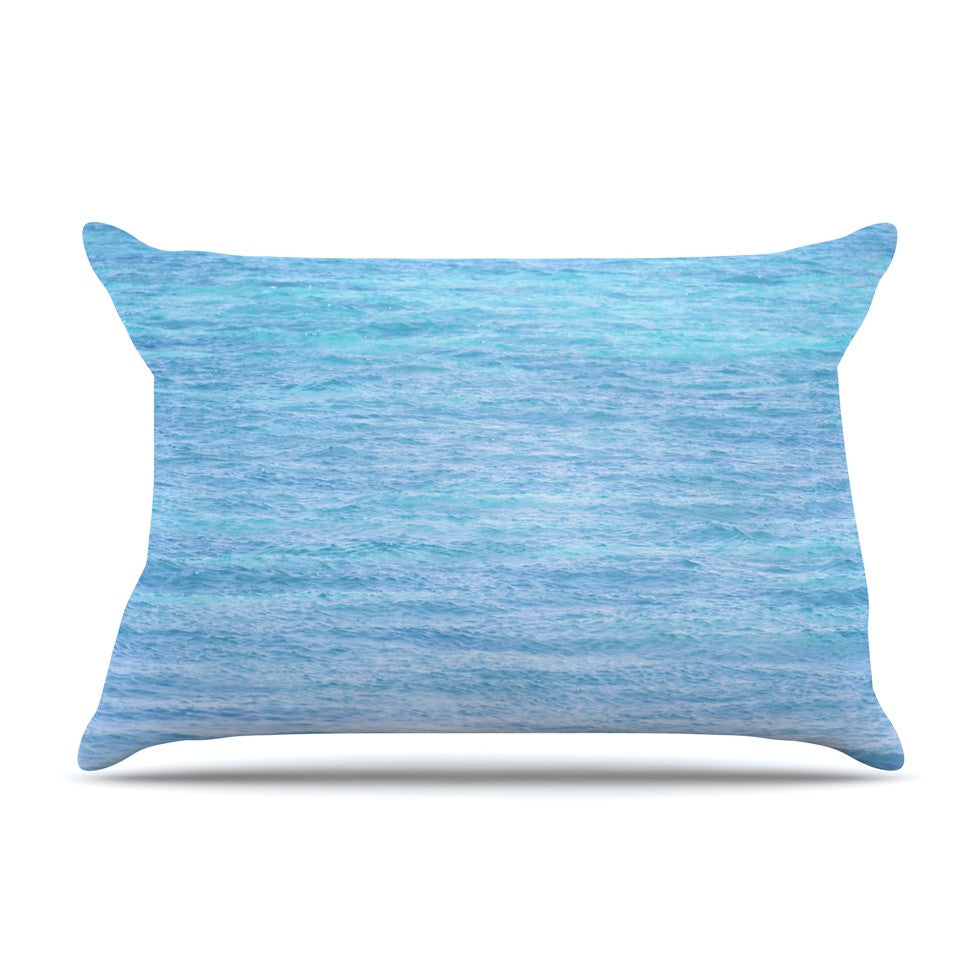 "Catherine McDonald ""South Pacific II"" Ocean Water Pillow Sham - KESS InHouse"
