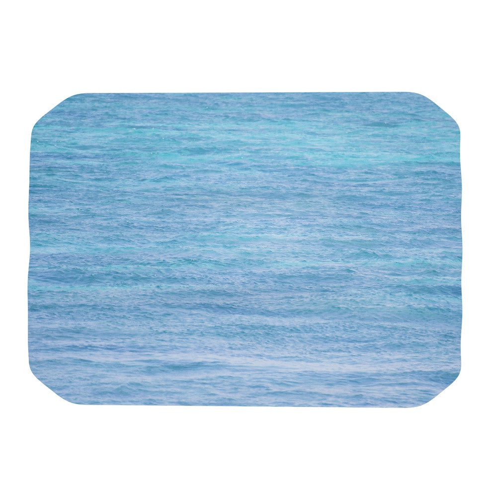 "Catherine McDonald ""South Pacific II"" Ocean Water Place Mat - KESS InHouse"