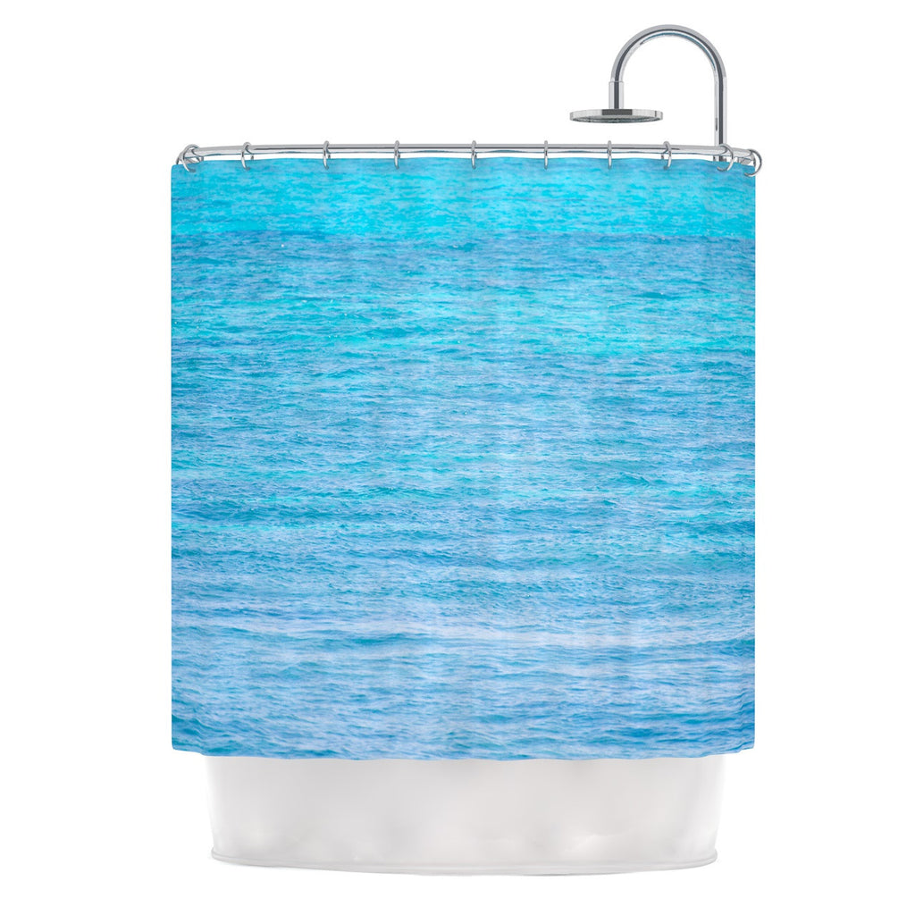 "Catherine McDonald ""South Pacific II"" Ocean Water Shower Curtain - KESS InHouse"