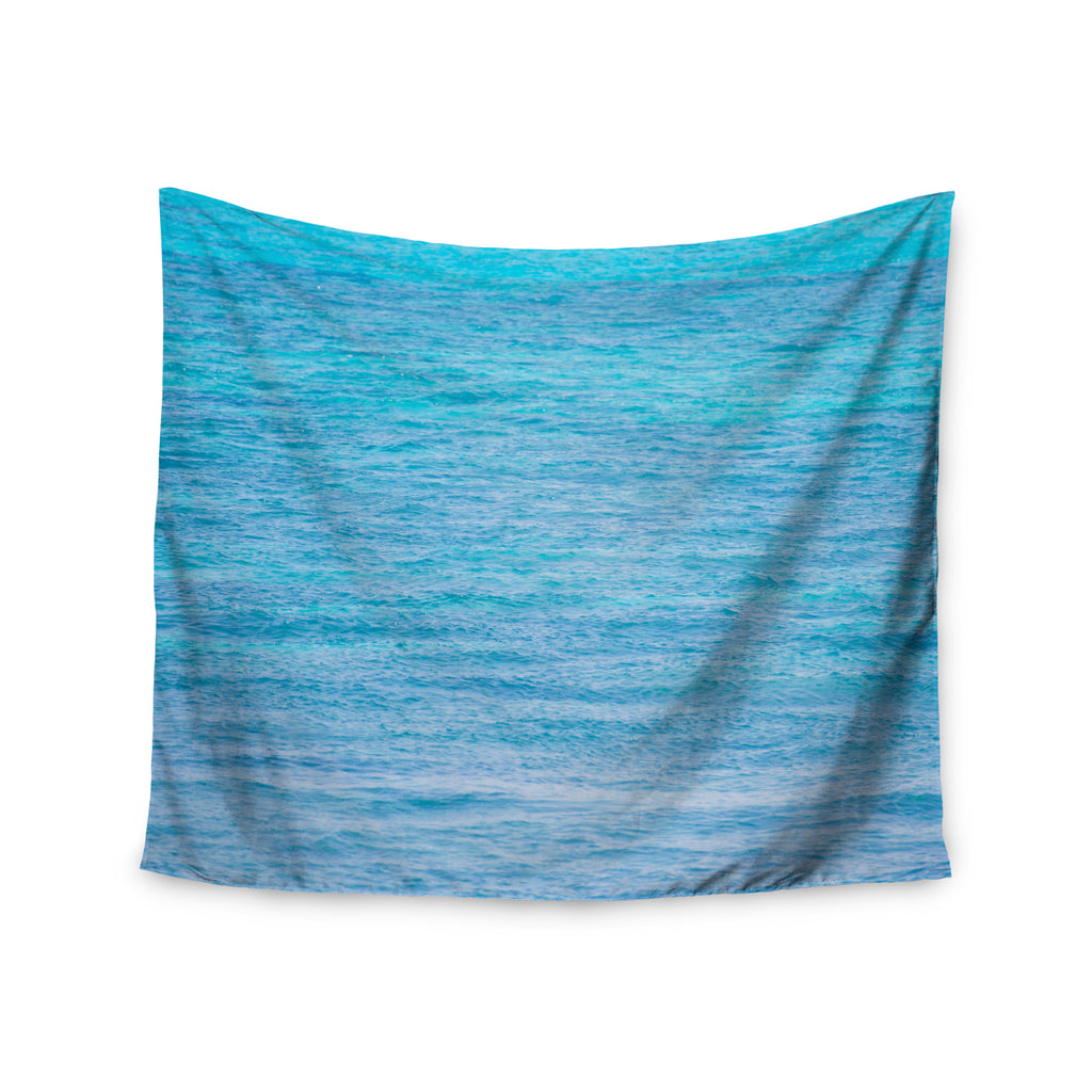 "Catherine McDonald ""South Pacific II"" Ocean Water Wall Tapestry - Outlet Item"
