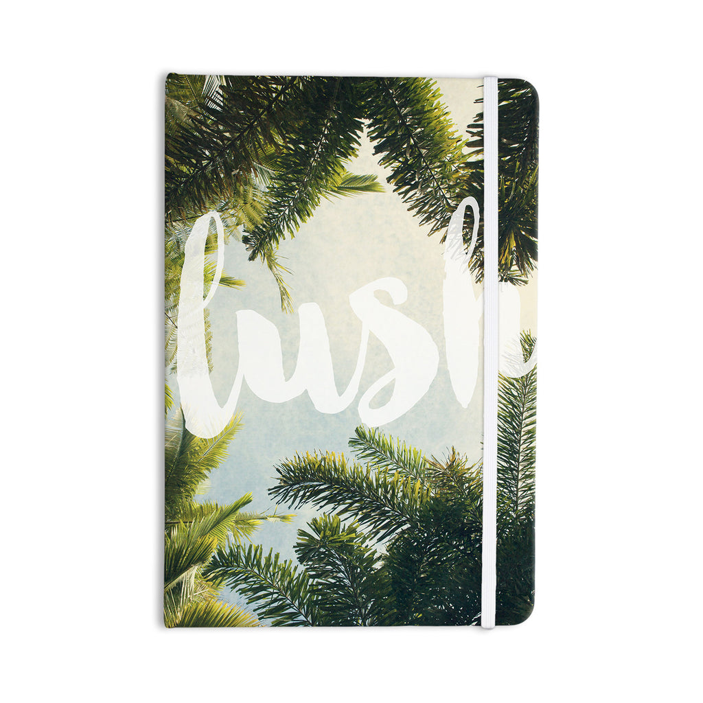 "Catherine McDonald ""Lush"" Nature Typography Everything Notebook - KESS InHouse  - 1"