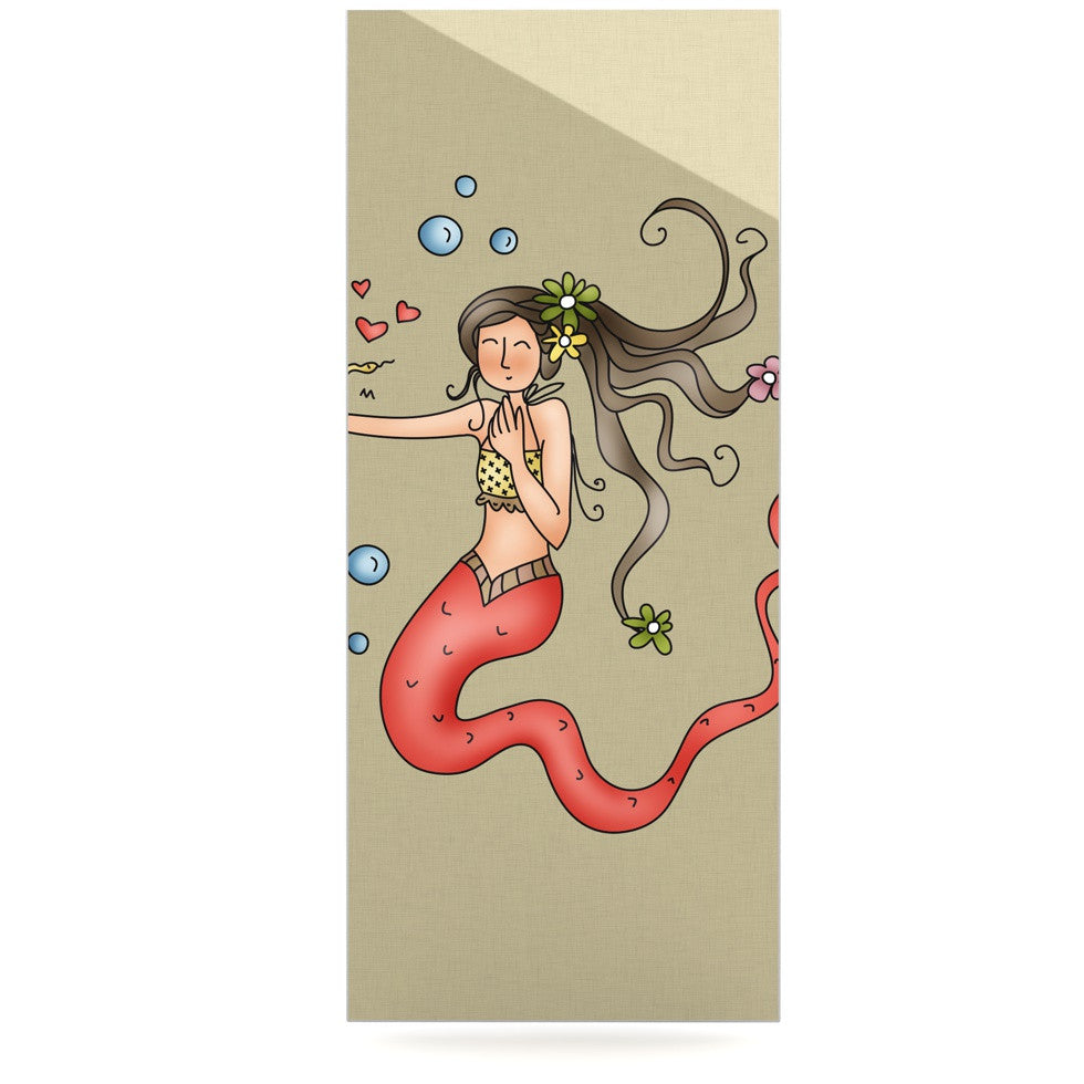 "Carina Povarchik ""Mermaids Lovely"" Luxe Rectangle Panel - KESS InHouse  - 1"