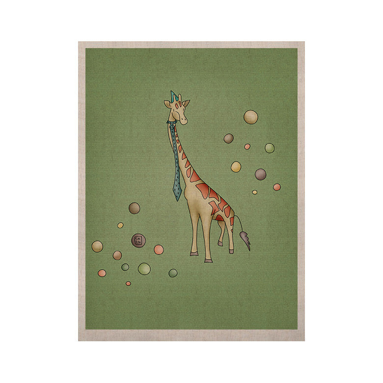 "Carina Povarchik ""Giraffe"" KESS Naturals Canvas (Frame not Included) - KESS InHouse  - 1"