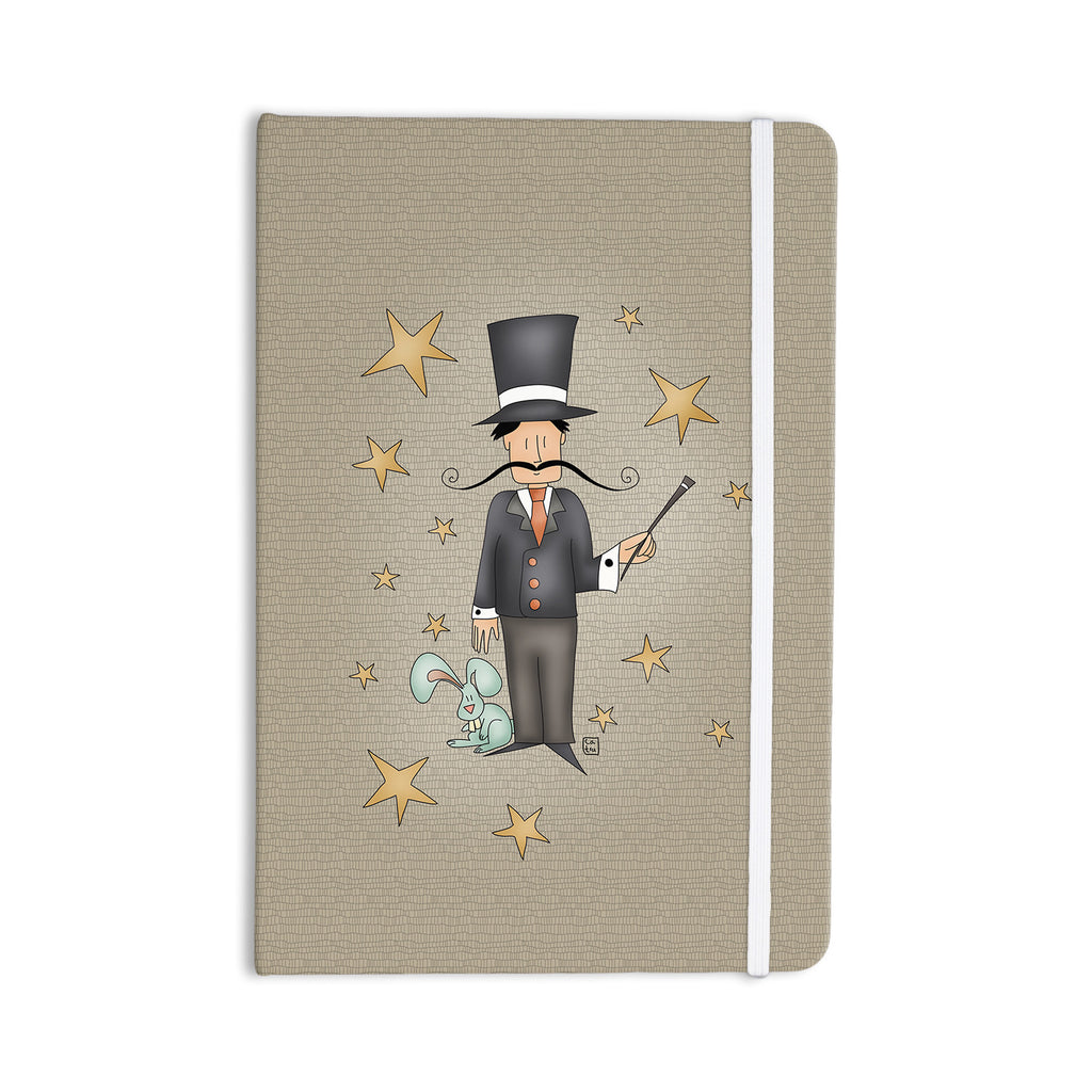 "Carina Povarchik ""Circus Magician"" Everything Notebook - KESS InHouse  - 1"