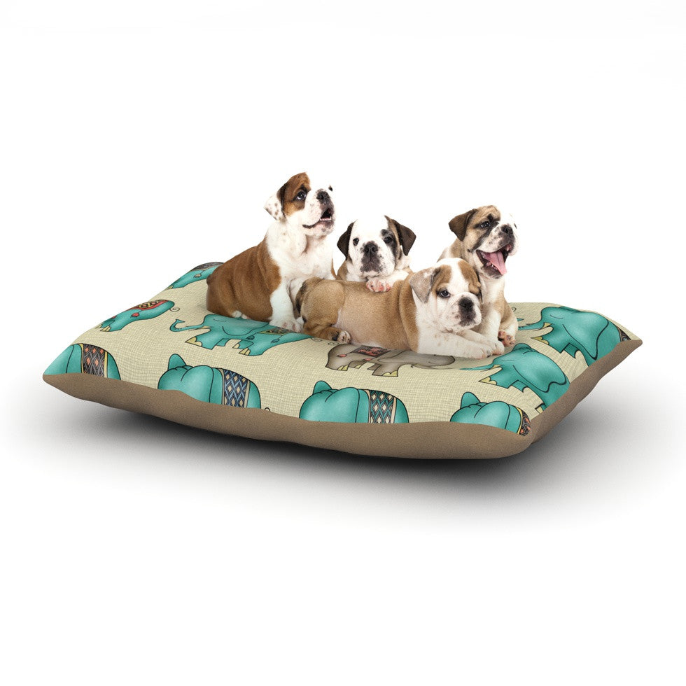 "Carina Povarchik ""Dreamy Ellie"" Art Object Dog Bed - KESS InHouse  - 1"