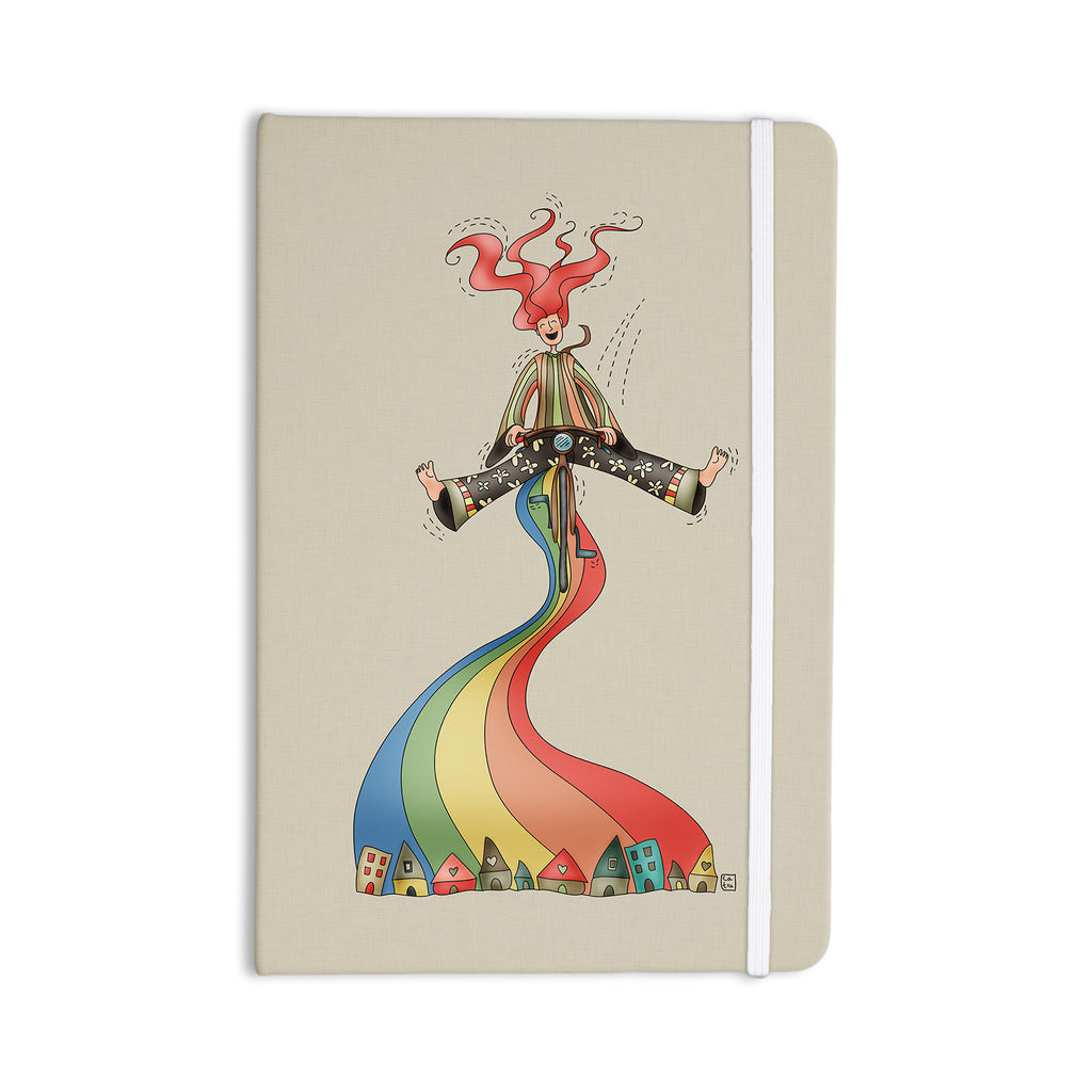 "Carina Povarchik ""Weeeee"" Fantasy Illustration Everything Notebook - KESS InHouse  - 1"
