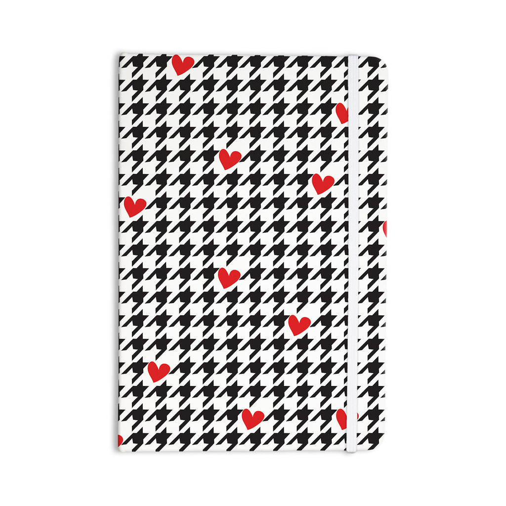 "Empire Ruhl ""Spacey Houndstooth Heart"" Everything Notebook - KESS InHouse  - 1"
