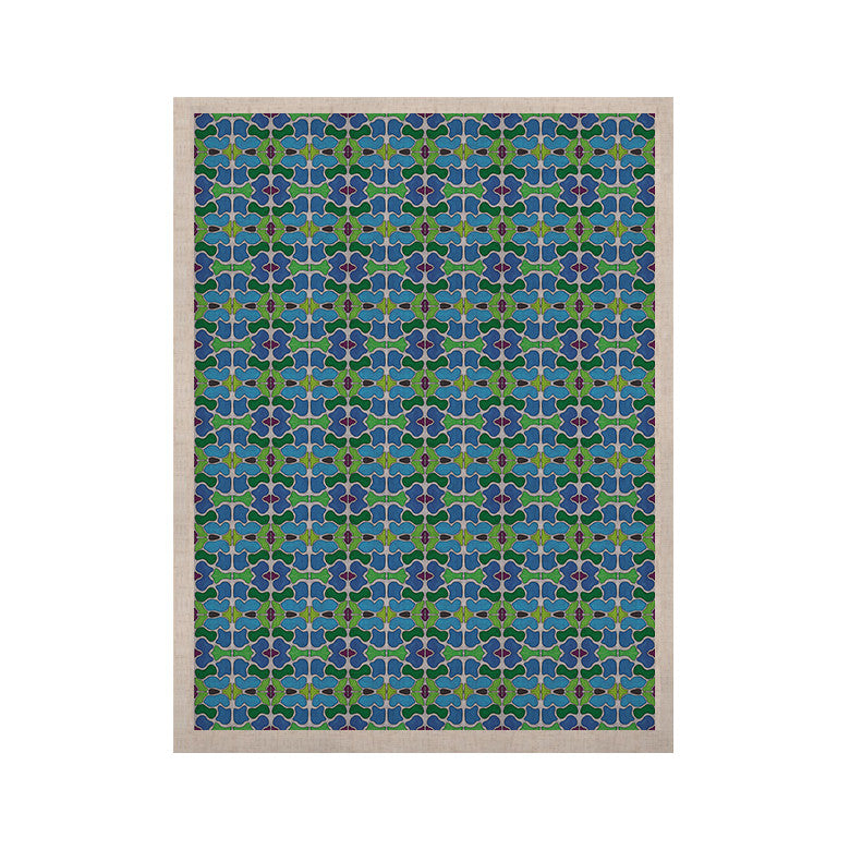 "Empire Ruhl ""Sea Glass"" KESS Naturals Canvas (Frame not Included) - KESS InHouse  - 1"