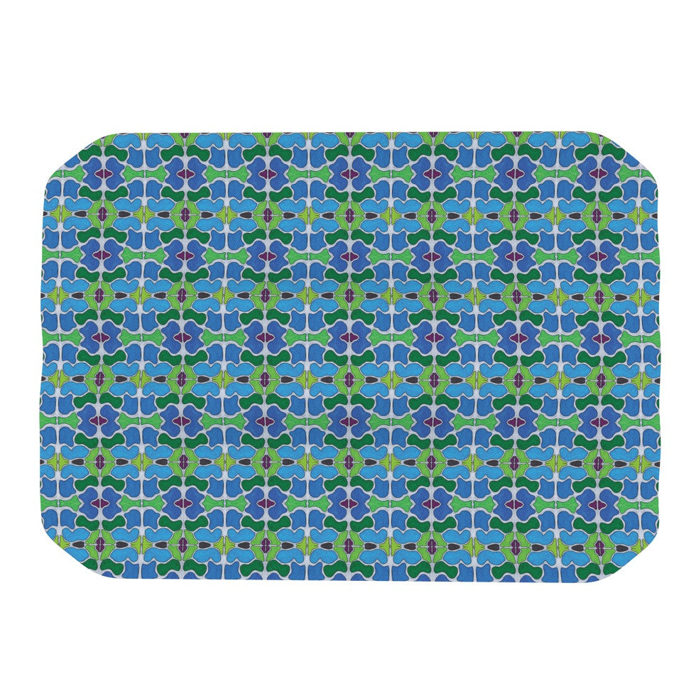"Empire Ruhl ""Sea Glass"" Place Mat - KESS InHouse"