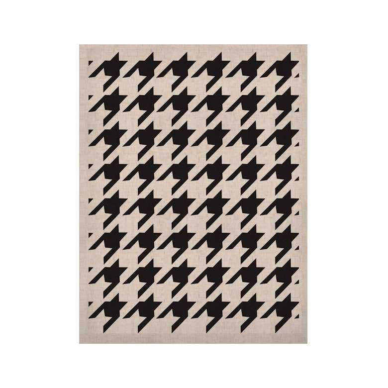 "Empire Ruhl ""Spacey Houndstooth"" KESS Naturals Canvas (Frame not Included) - KESS InHouse  - 1"