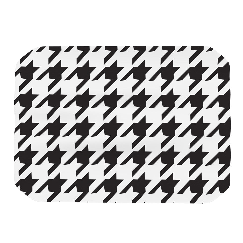 "Empire Ruhl ""Spacey Houndstooth"" Place Mat - KESS InHouse"
