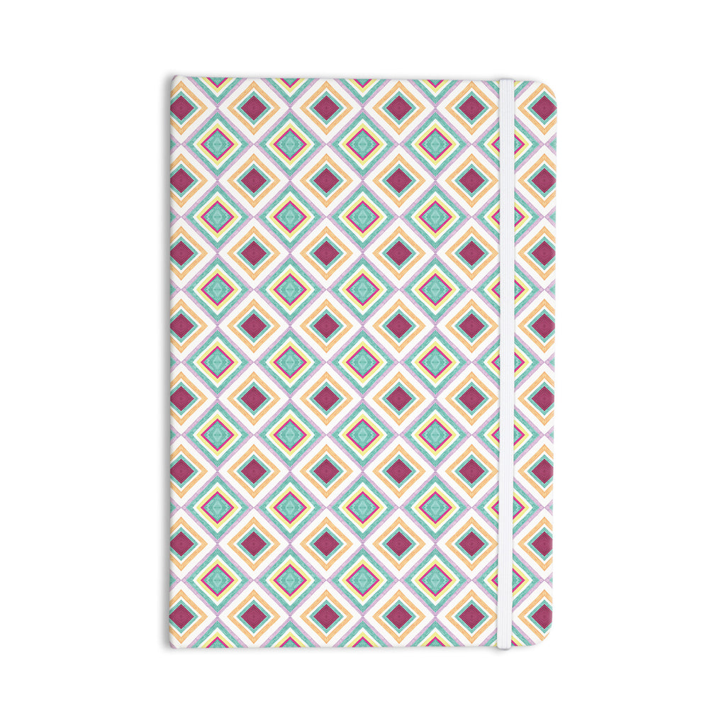 "Empire Ruhl ""Hip Diamonds"" Diamond Pattern Everything Notebook - KESS InHouse  - 1"