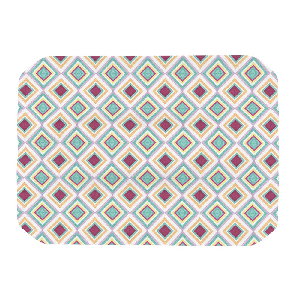 "Empire Ruhl ""Hip Diamonds"" Diamond Pattern Place Mat - KESS InHouse"